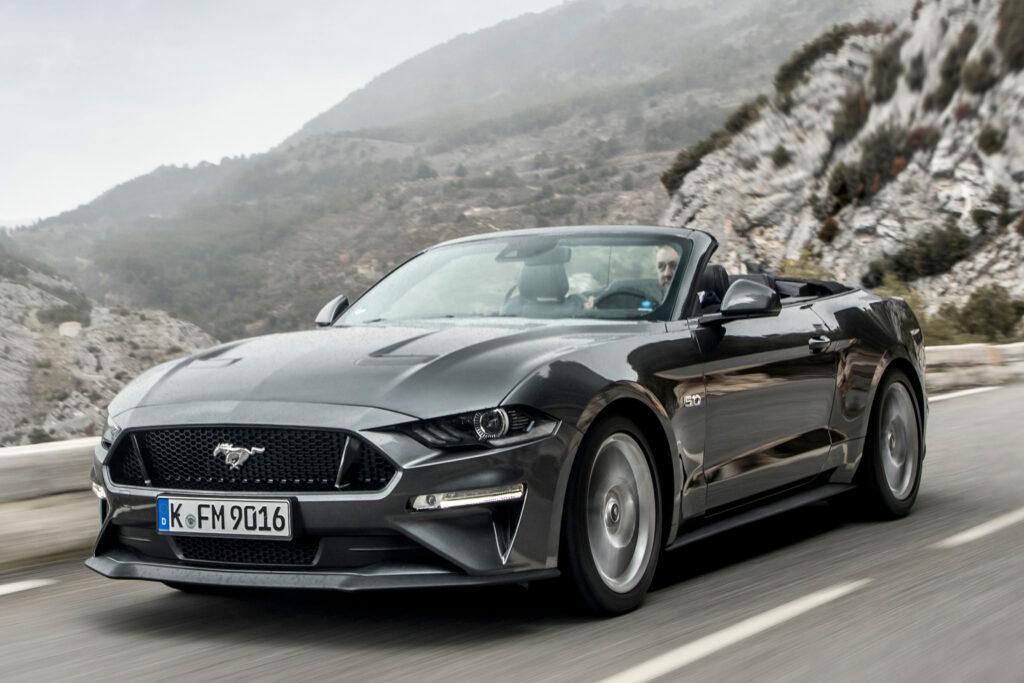 Mustang Convertible facelift