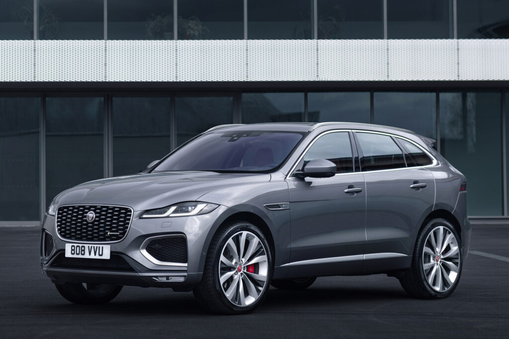 F-Pace facelift