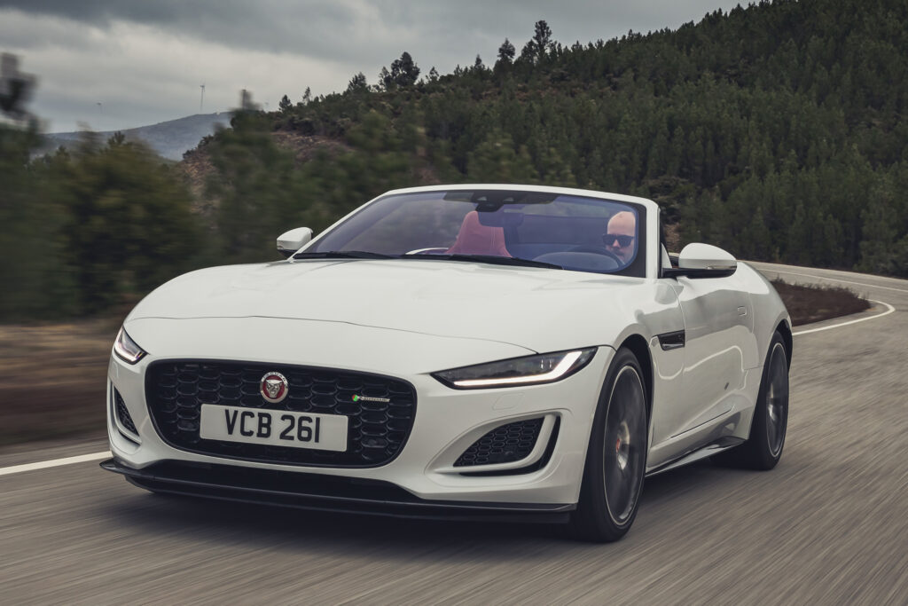 F-Type Convertible facelift