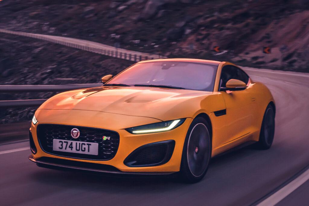 F-Type Coupé facelift