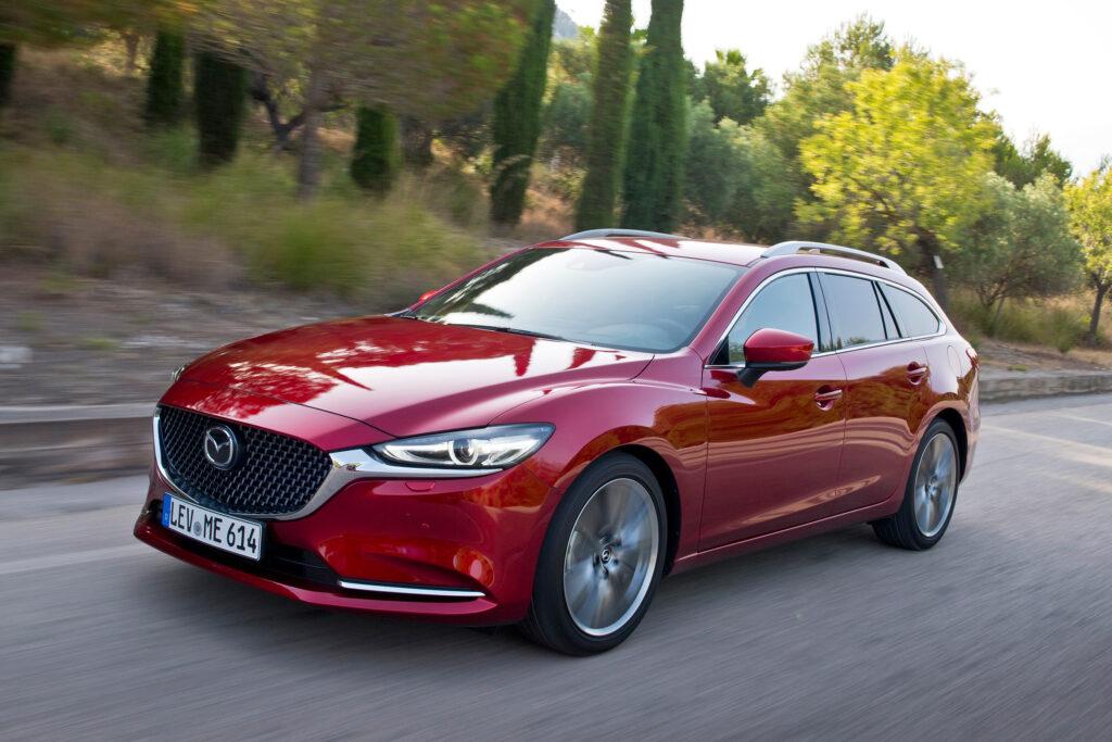 Mazda 6 Combi facelift