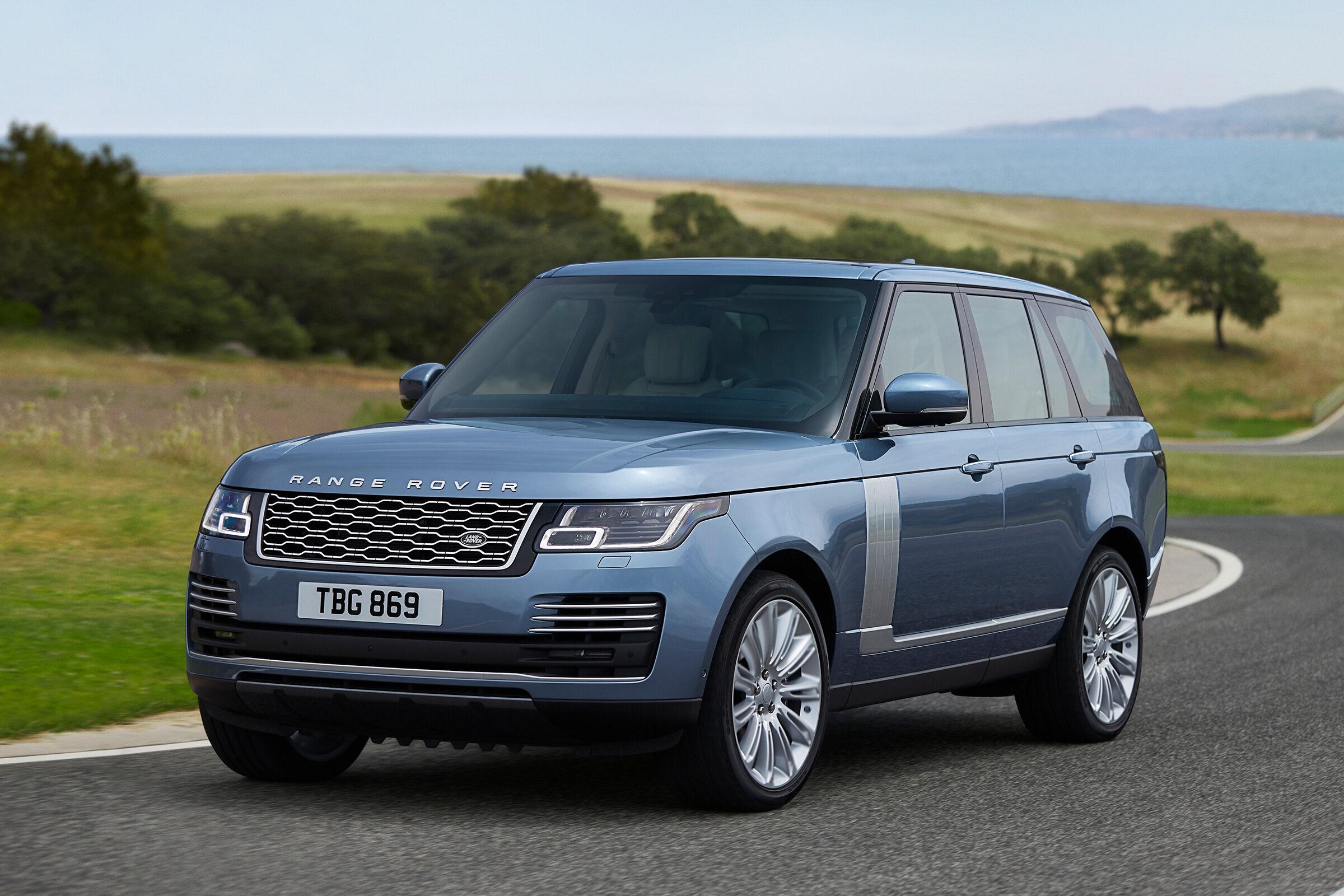 Range Rover faceliftRange Rover